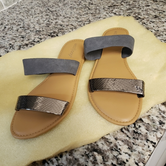 Shoes - Cute pair never worn from target size 7 8 sandals